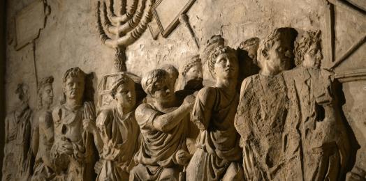 El saqueo del Templo en Jerusalem y la construcción del coliseo en Roma