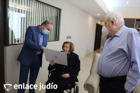 03-00-2020-UNA GUERRERA DE ISRAEL CONOCE A UN EMBAJADOR DE GRAN CORAZON 11