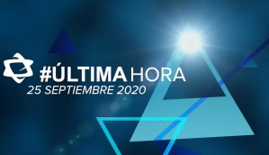 Anuncio de última hora del 25 de septiembre de 2020
