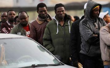 Solicitantes de asilo sudaneses en Israel