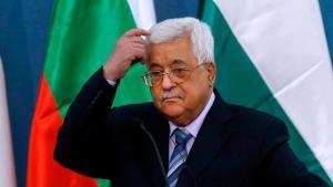 Fotografía de Mahmoud Abbas, presidente de la Autoridad Palestina