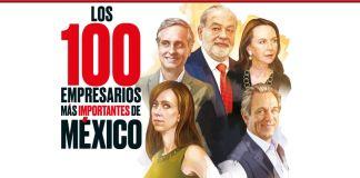ilustración de Grupo Expansión de los 100 empresarios más importantes de México