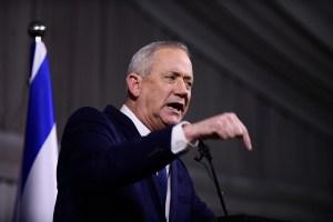 Ministro de Defensa de Israel Benny Gantz-presupuesto estatal