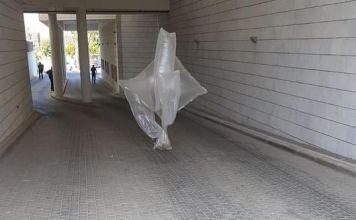 Globo explosivo hallado en el sur de Israel