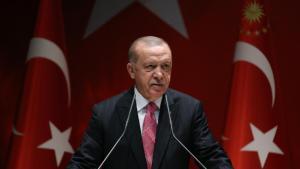 """Recep Tayyip Erdogan, presidente de Turquía, está llevando a cabo una política yihadista y neo otomana, amenaza con """"recuperar"""" Jerusalén"""