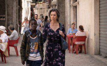 La actriz italiana Sofía Loren en su nuevo filme La Vida ante sí