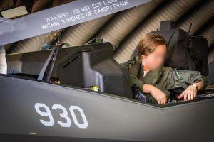Nombran comandante adjunta del escuadrón 116 a la primera mujer piloto de F-35 de Israel