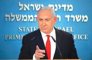 Primer ministro de Israel, Benjamín Netanyahu advierte de elecciones
