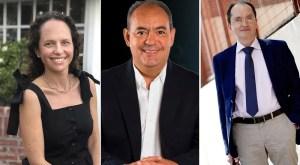 carol perelman, dr francisco moreno sanchez y el dr Juan Martinez Hernandez