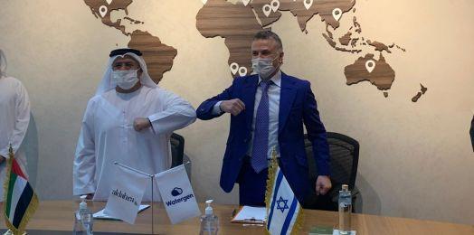Firma israelí que produce agua del aire exportará su tecnología a Emiratos