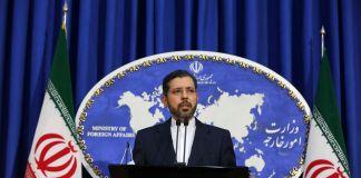 El portavoz de la cancillería de Irán