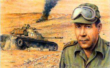 """De 1948 a 1973, el general de división Israel """"Talik"""" Tal, quien murió a los 85 años, creó y comandó el incipiente cuerpo de tanques del ejército israelí, estableciéndose como el brazo principal de las FDI y la principal salvaguardia de Israel en el área de la seguridad militar."""