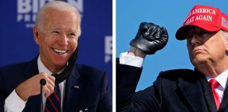 Donald Trump y Joe Biden, candidatos a la presidencia de las elecciones de 2020 en Estados Unidos