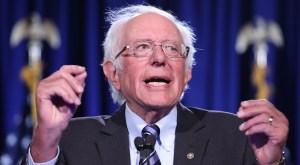 Fotografía del político judío estadounidense Bernie Sanders