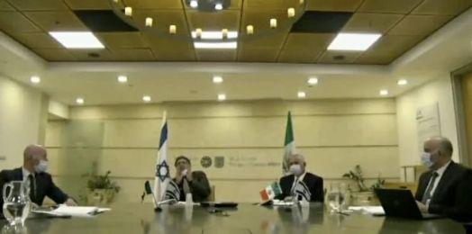 Israel y México sostienen diálogo; prometen fortalecer relación económica