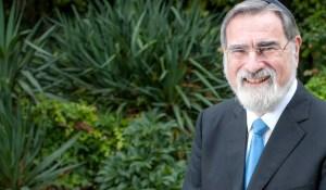 el rabino Lord Jonathan Sacks