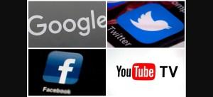 Logotipos de las principales redes sociales en el marco de la lucha contra el antisemitismo en línea