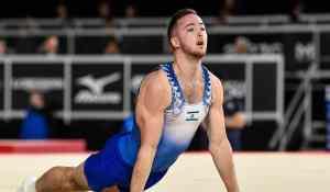 El gimnasta israelí Artem Dolgopyat