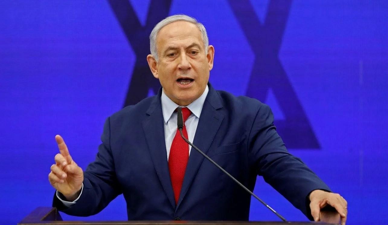 El primer ministro israelí Benjamín Netanyahu