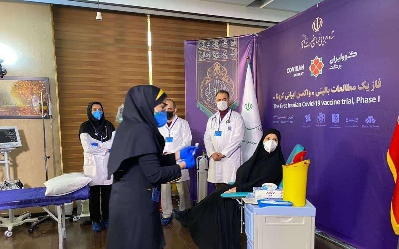 Primer estudio sobre seguridad y eficacia de una vacuna contra el coronavirus en Irán comenzó este martes, informó la televisión estatal.