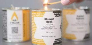 La Iniciativa Nuestros 6 millones de Shem Vener logró encender 4 millones 532 mil 122 velas en memoria de una víctima del Holocausto y compartir su historia