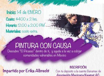"""Pintura con causa: Descubre """"El Picasso""""  dentro de ti, y ayuda a la vez a cobijar comunidades vulnerables en México"""