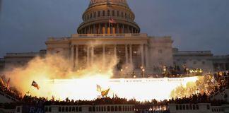 El Capitolio de Estados Unidos el 6 de enero de 2021