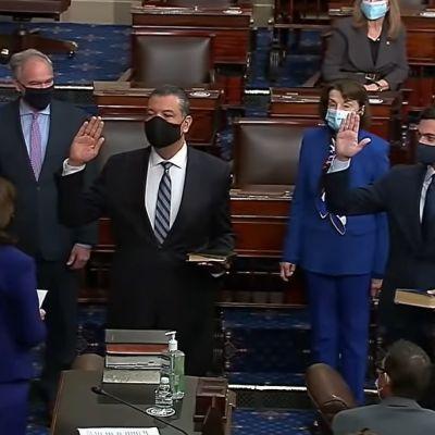 EE. UU: Senador judío por Georgia jura el cargo con Biblia en hebreo