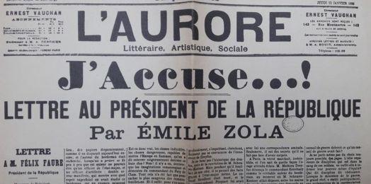 5 puntos para entender la carta J'accuse de Emile Zola, que acusaba al gobierno francés de condenar falsamente a Alfred Dreyfus y de antisemitismo