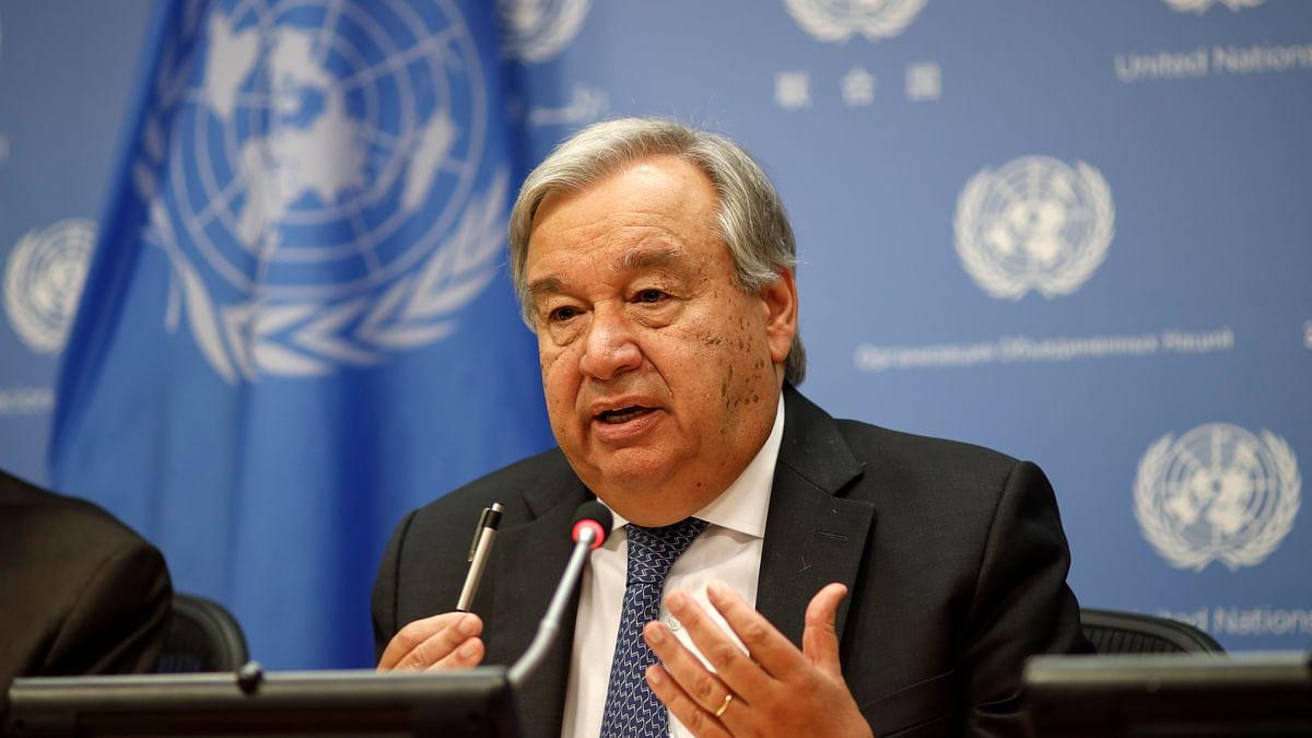 """El Secretario general de ONU Antonio Guterres dijo que """"hay razones para esperar"""" el progreso hacia el fin del conflicto israelo-palestino"""