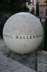 Memorial Raoul Wallenberg en Estocolmo