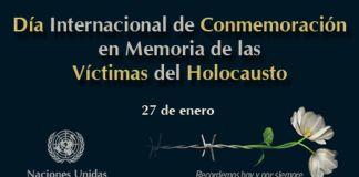 Eventos nacionales e internacionales del Día de Recuerdo del Holocausto por el 76 aniversario de la liberación del campo de exterminio de Auschwitz-Birkenau