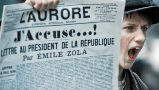 Irving Gatell/ Émile Zola y su 'J'accuse'