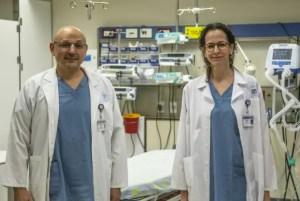 Extracción de tumor cerebral en el Hospital Ijilov de Tel Aviv