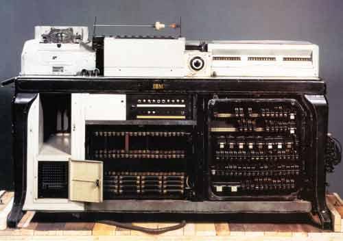 máquina antigua de IBM