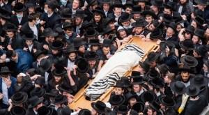 Funeral ultraortodoxo en Israel