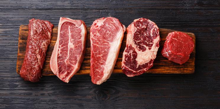 Prototipos de los productos comercial de carne cultivada de Aleph Farms.