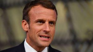 """Emmanuel Macron, se ofreció a ser un """"intermediario honesto"""" en las conversaciones entre EE. UU. e Irán para revivir el acuerdo nuclear de 2015."""