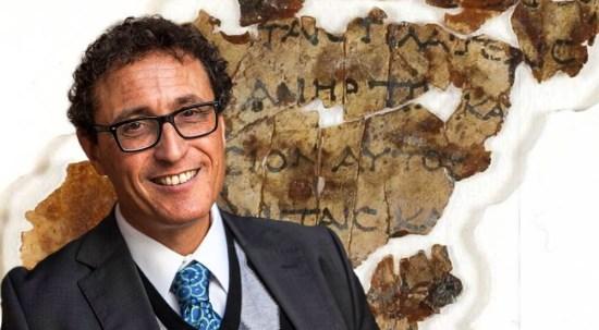 Adolfo Roitman explica el reciente descubrimiento de manuscritos bíblicos viejos de 2000 años