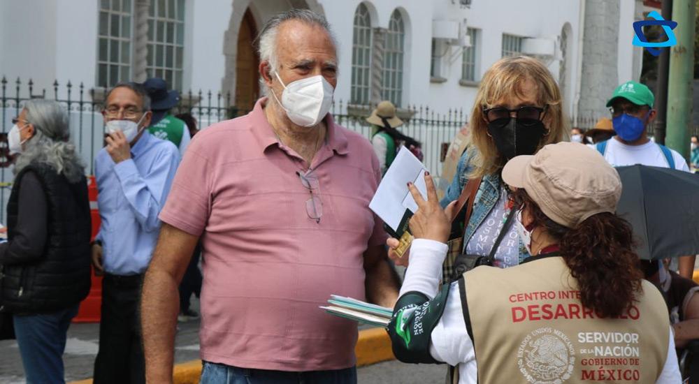 Inició la jornada de vacunación contra COVID-19, en la Alcaldía Miguel Hidalgo con una gran participación de la Comunidad Judía