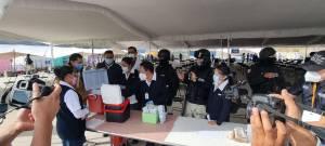 Este martes se realizó la segunda jornada de vacunación contra COVID-19 para adultos mayores en el municipio de Huixquilucan