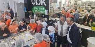 Cocina comunitaria dirigida por judíos en Sydney, Australia