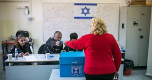 Israelí votando