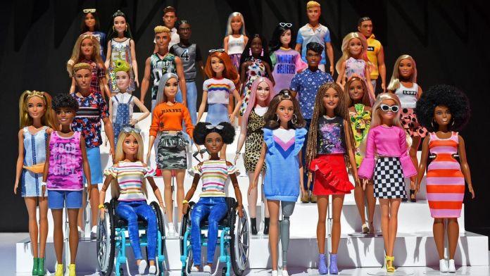 Algunos ejemplos de la línea extra de Barbie