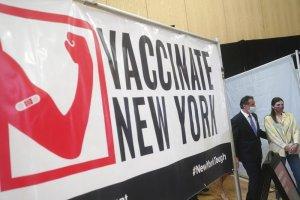 A partir del 6 de abril neoyorquinos de 16 años o más podrán recibir la vacuna contra COVID-19 informó el gobernador de Nueva York