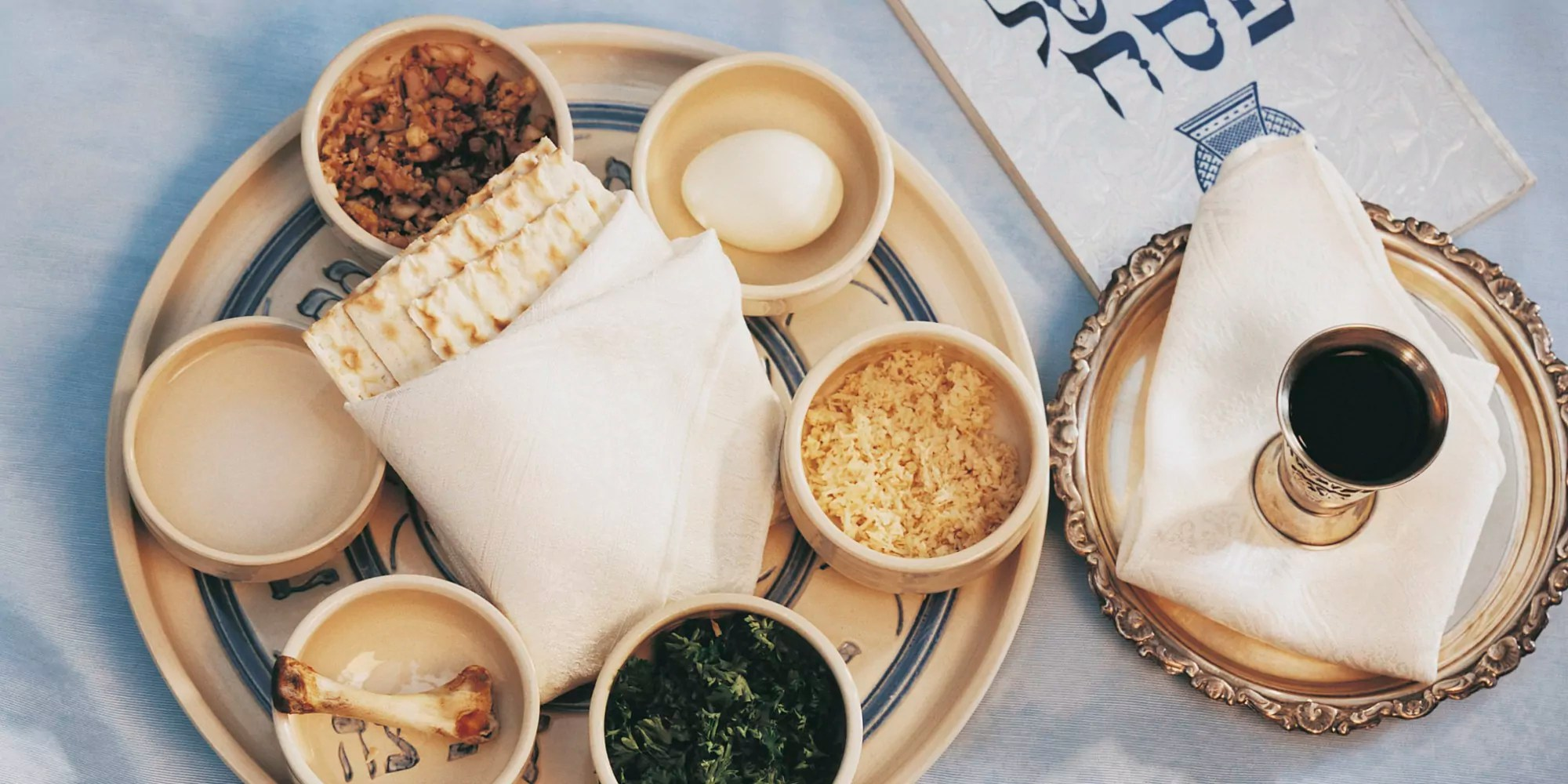 comida tradicional de Pésaj