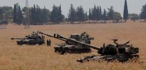 Tanques de las Fuerzas de Defensa de Israel