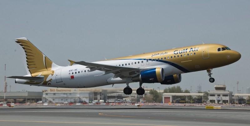 Avión de Gulf Air