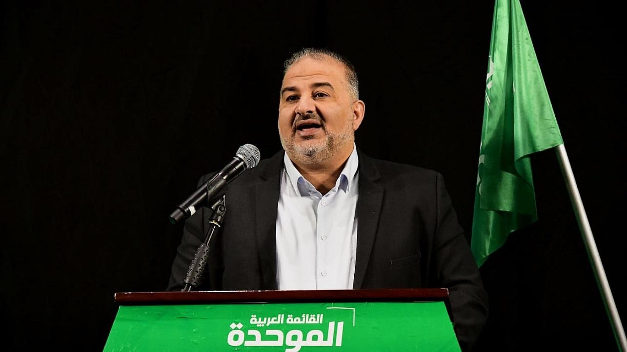 Mansour Abbas, jefe del partido Ra'am