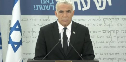 Lapid aboga por un gobierno de unidad en Israel con partidos de derecha, centro e izquierda